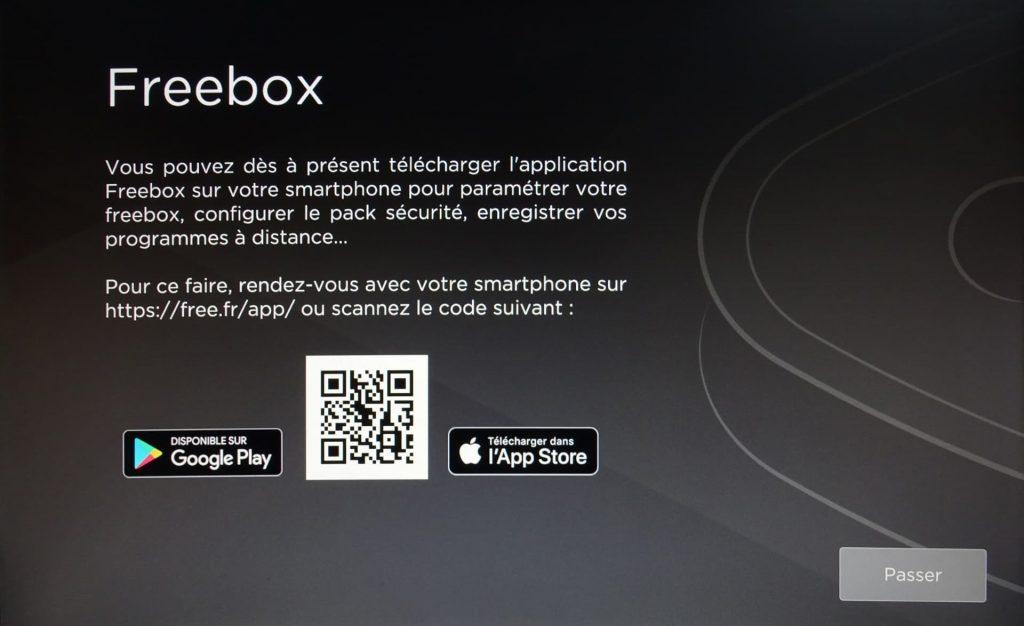 Application Freebox