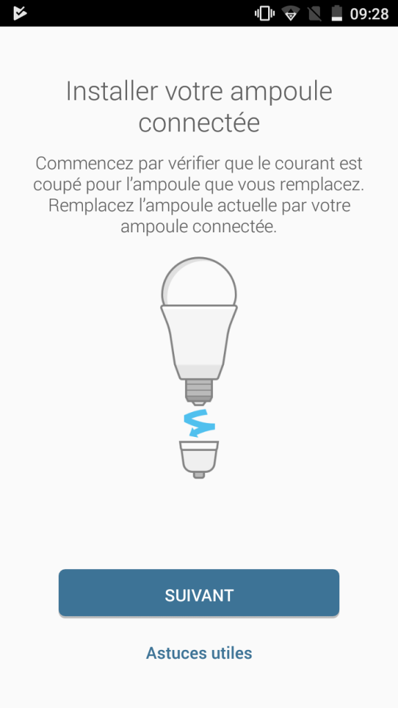 7 - Installation ampoule