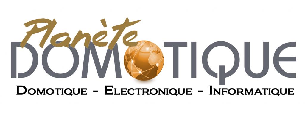 Logo planète domotique en 2009