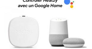 Contrôler Heatzy sur Google Home