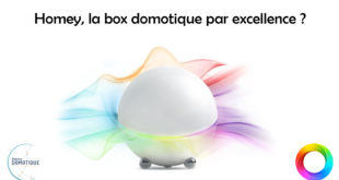 Homey Box domotique