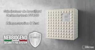 Générateur de brouillard Defendertech DT400