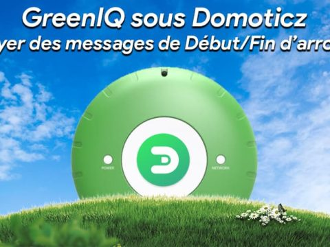 GreenIQ sous Domoticz : Envoyer des messages de début et fin d'arrosage