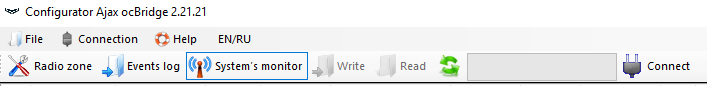 Configurator menu