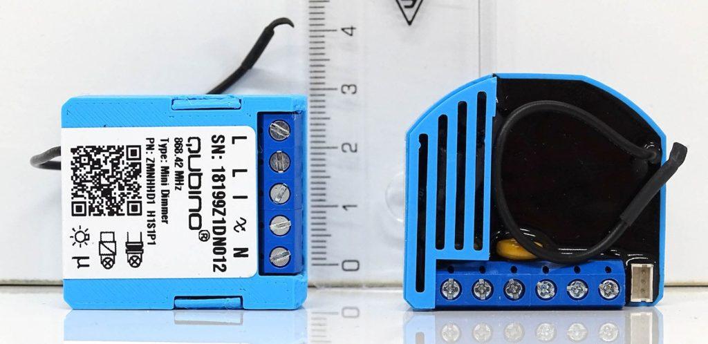 Qubino Mini vs Dimmer classique