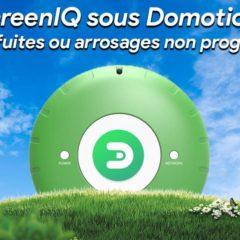 GreenIQ sous Domoticz : Être alerté des fuites et/ou arrosages non programmés