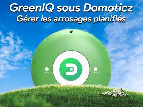 GreenIQ sous Domoticz : Gérer les arrosages planifiés