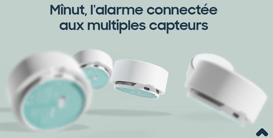 Mînut, l'alarme connectée aux multiples capteurs