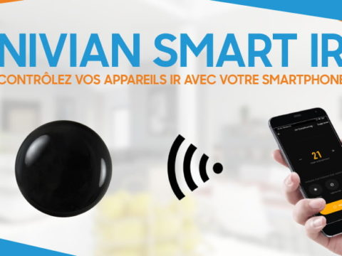 Pilotez vos appareils Infrarouge avec votre Smartphone et Nivian Smart IR