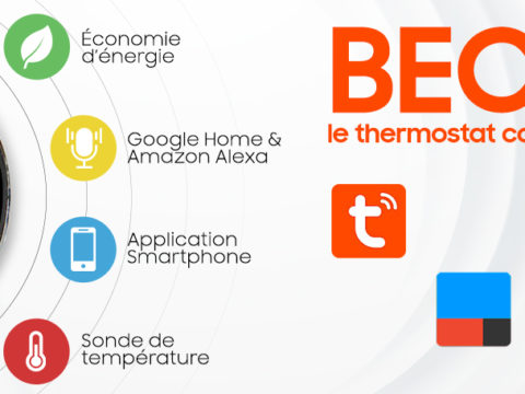 Beca, le thermostat WiFi compatible IFTTT, Google Home et Alexa