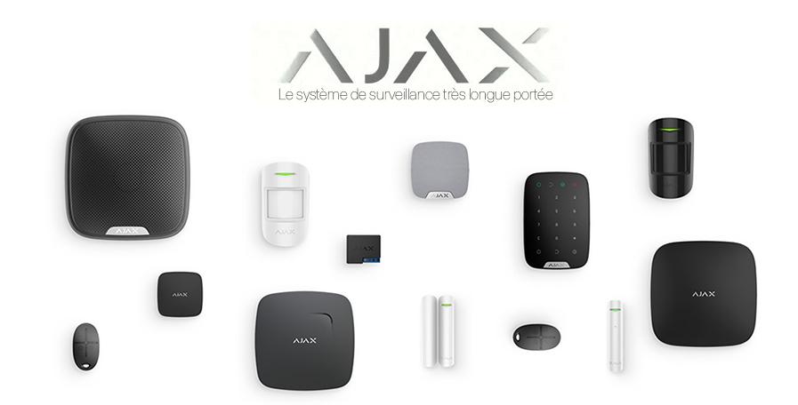 Découverte des équipements de surveillance longue portée Ajax Systems