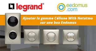 Céliane With Netatmo sur box eedomus