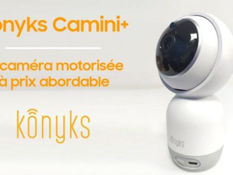Konyks Camini+, la caméra motorisée à prix abordable