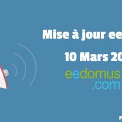 Mise à jour eedomus du 10 Mars 2020 : Linky, SMS et Zigate