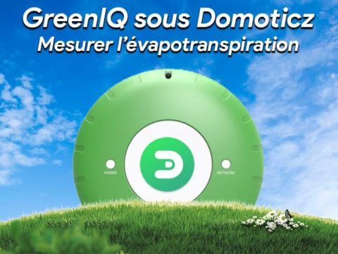 GreenIQ sous domoticz : Mesurer l'évapotranspiration avec un script