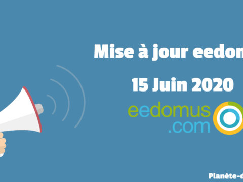 Mise à jour eedomus du 15 Juin 2020 : Sonde de piscine & Thermostat Zigbee