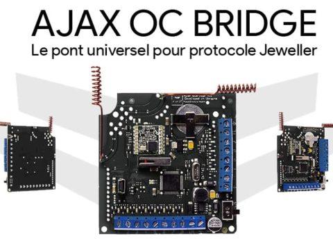 Ajax OC Bridge, pour rendre votre centrale Ajax Systems universelle