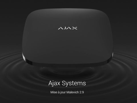 Ajax Systems, mise à jour Malevich 2.9 pour les Hubs