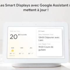 Les Smart Displays avec Google Assistant se mettent à jour !