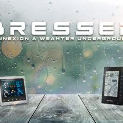 Connecter sa station météo Bresser WiFi à Weather Underground