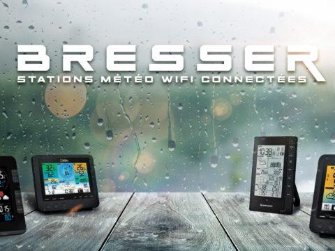 Des stations météo WiFi connectées pour box domotique et smartphone