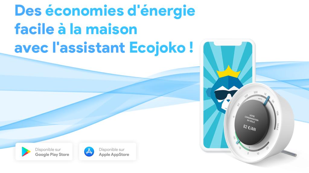 Des économies d'énergie facile à la maison avec l'assistant Ecojoko