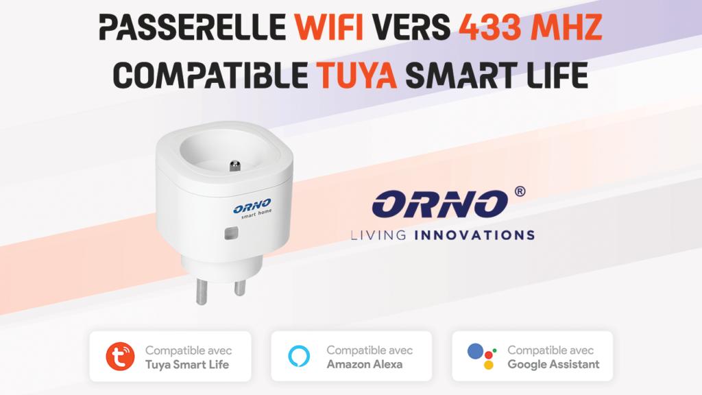 Contrôlez des appareils 433 Mhz en Wifi via l'application Tuya Smart Life