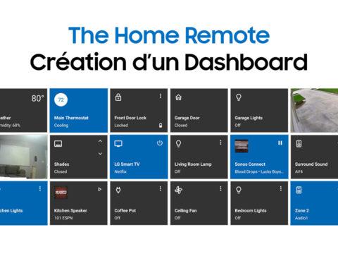 The Home Remote, présentation du logiciel de création de dashboard