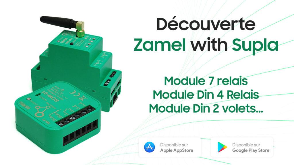 Découverte des produits connectés WiFi Zamel compatibles Cloud Supla