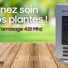 Prenez soin de vos plantes avec la sonde d'arrosage sans fil Bresser