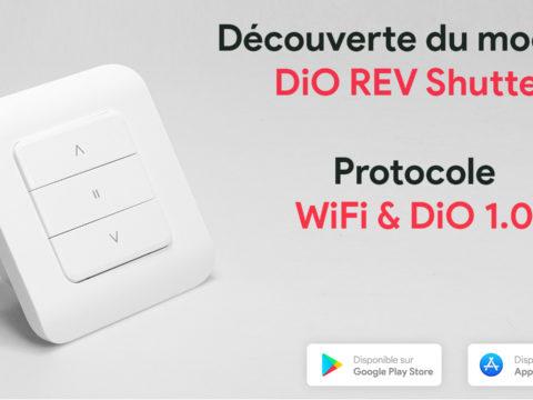 Découverte du module pour volet roulant DiO REV Shutter Compatible WiFi