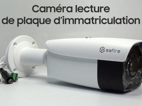 Test d'une caméra à lecture de plaque d'immatriculation