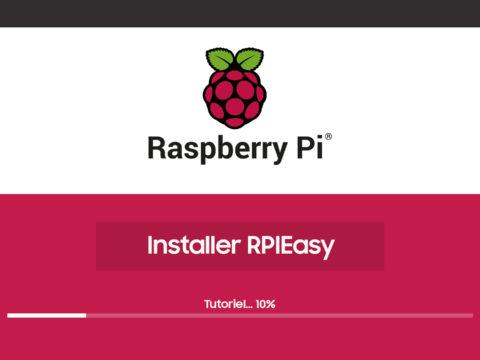 Tutoriel pour installer RPIEasy sur une carte Raspberry PI