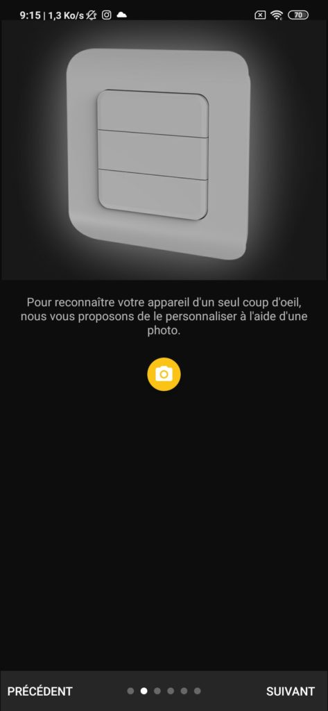Interface application DiO Rev Shutter photo