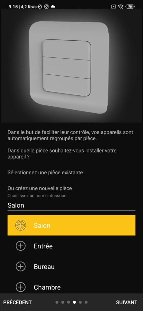 Interface application DiO Rev Shutter nom