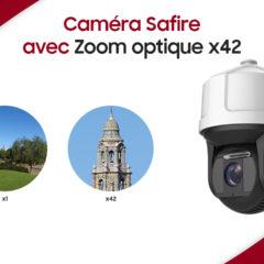 Safire, une caméra motorisée avec zoom optique x42 et Intelligence artificielle