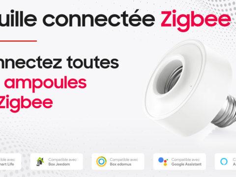 Douille Zigbee LoraTap, connectez vos ampoules sur jeedom et eedomus