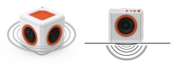 AudioCube Allocacoc : Surround 360° et basses