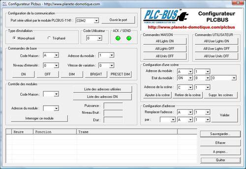 Configurateur PLCBus