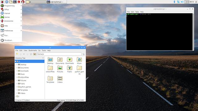 Raspbian Pixel sur Raspberry Pi