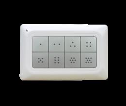 Contrôleur de scènes Z-Wave+ 8 boutons - Remotec