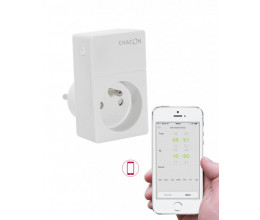 Prise On/Off Wi-Fi pilotable par smartphone - Chacon