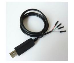 Câble USB vers TTL pour communication série vers carte électronique