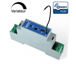 Module variateur Z-Wave Plus Rail DIN avec mesure d'énergie - Qubino
