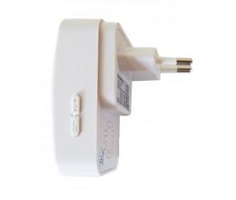 Récepteur de sonnette sans fil alimenté sur prise - ECO-LIFE