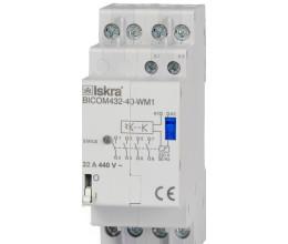 Commutateur bi-stable 32A pour Smart Meter avec contrôle infrarouge - Iskra