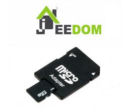 Carte Micro SD 8Go (adaptateur inclus) avec système JEEDOM pré-installé