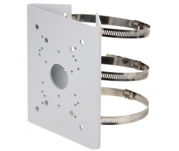 Support de fixation caméra sur poteau - Wizelec