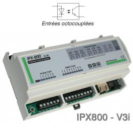 Carte relais Webserver IPX800 V3i - entrées optoisolées