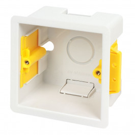 Boite d'encastrement carrée 47cm blanche - Appleby